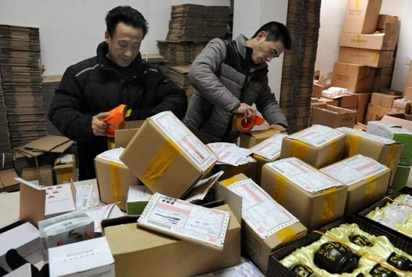 SgbExpress tổ chức đóng gói hàng hóa chuyển phát nhanh quốc tế đi Mông Cổ