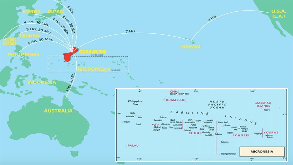 Dịch vụ gửi hàng hóa đi Guam uy tín